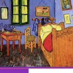 Art Institute of Chicago reúne as três obras de Van Gohg: Quarto em Arles