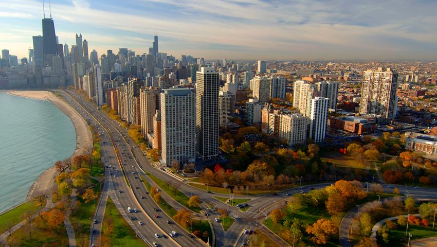 temperatura em Chicago