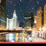 O fim de ano em Chicago é mágico