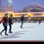 Patinação no gelo: pura diversão no inverno de Chicago
